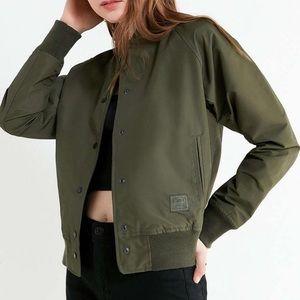 Herschel bomber varsity jacket